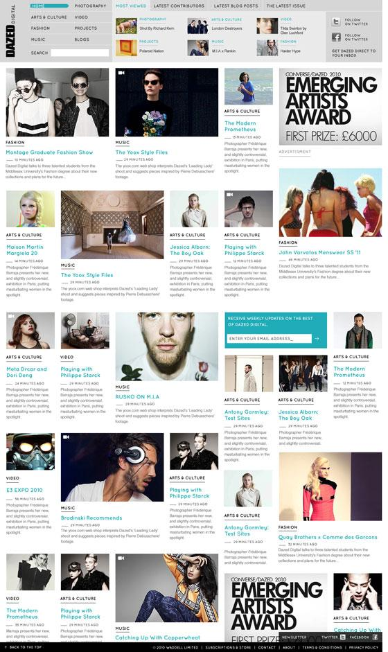 Web design inspiration   #272 « From up North   Design inspiration & news