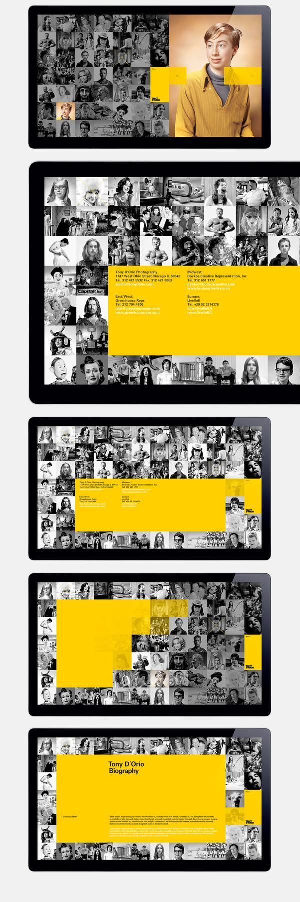 Web design inspiration   #213 « From up North   Design inspiration & news