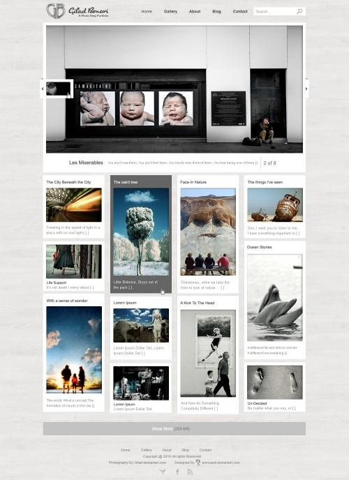 Inspiration Gallery #106 – Web design « From up North | Design inspiration & news