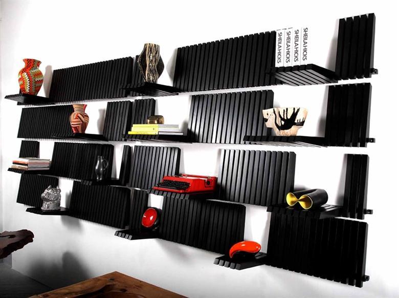 Sebastian Errazuriz : Piano Wall Shelf Unit
