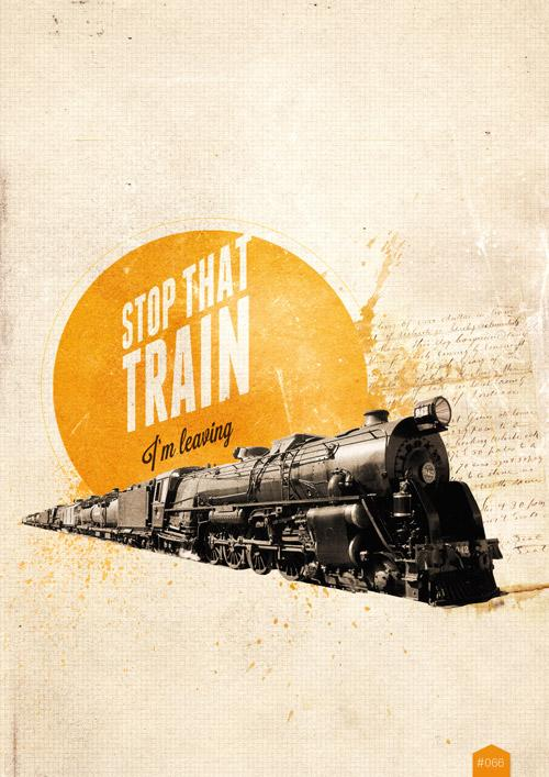 366 cool things - #066 - Stop that train