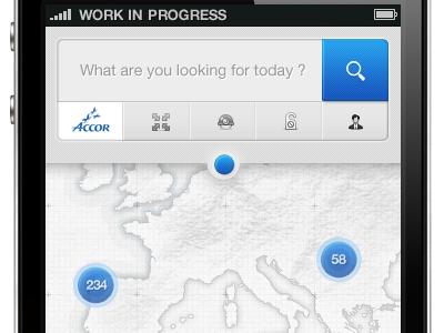'iPhone App' by Rus Adrian Ewald - UltraUI | UI Design & Inspiration