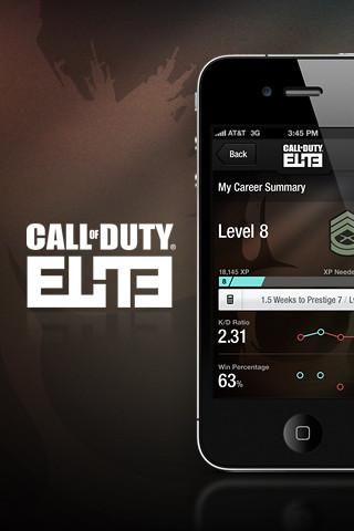 Call of Duty Elite for iPhone by Dan Petty... - UltraUI | UI Design & Inspiration