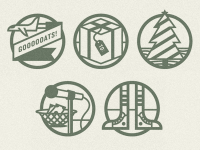 Fundraising Icons by Scott Hill