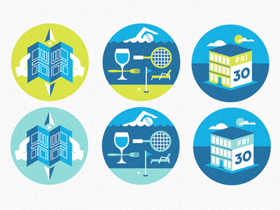 map, amenities, calendar by Scott Hill