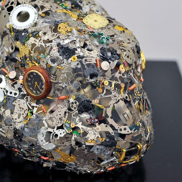 Watch Part Sculptures by Natsumi Honda | Colossal