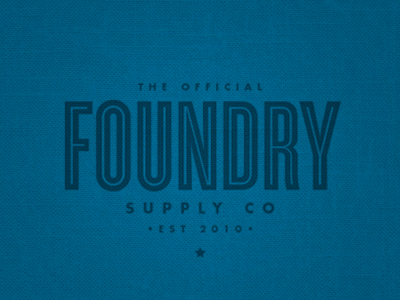 Foundry Store by Scott Hill