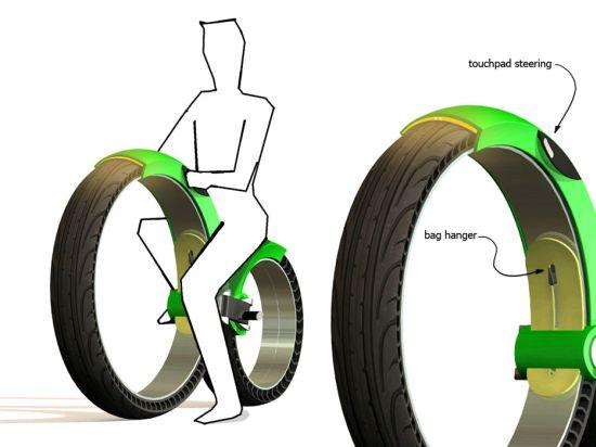 Urban electric bike folds to slip in your car's boot