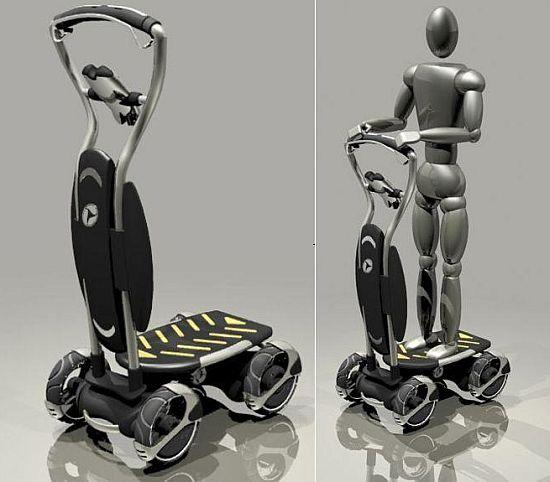 Personal Mover, a short distance public transportation design
