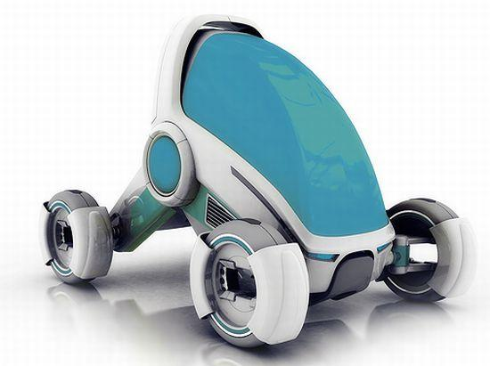 'Explicit' personal mobility vehicle allows safe and brisk ride on city roads