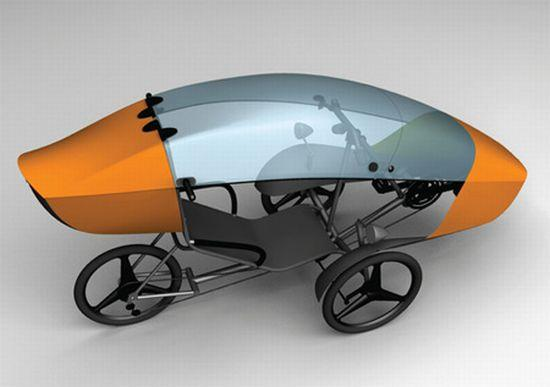 sTrike: Safe and sustainable vehicle for urban roads