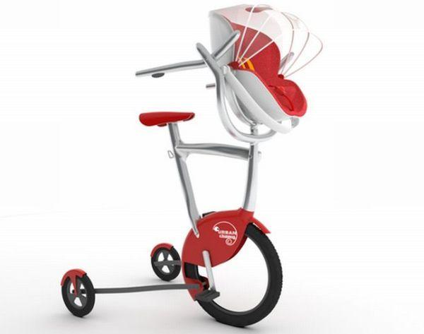 Urban Chameleon is a kid chair, stroller, bike and more