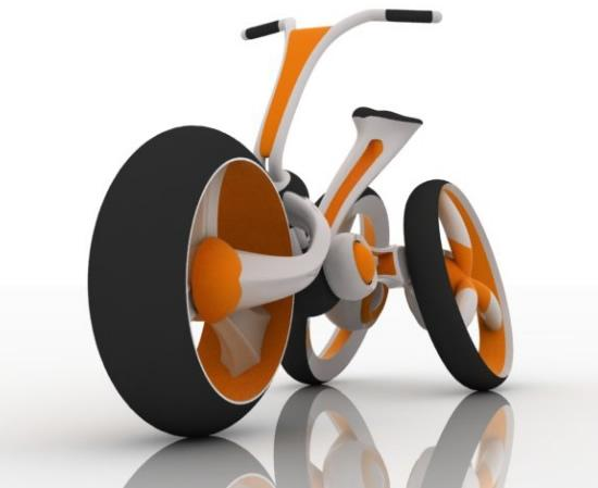 Green and mean Rabbit Concept Electric Bike