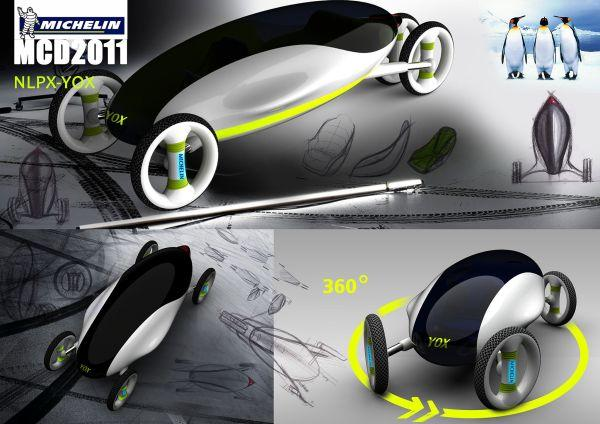Experience multiple driving modes with NLPX-YOX 2021 concept car