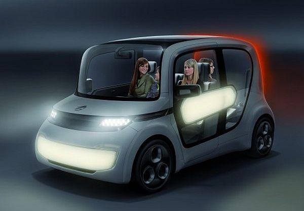 EDAG Light Car Sharing, an intercity car hiring fleet with a strong visual identity