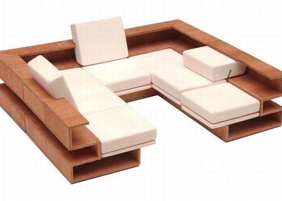 Grado, modular furniture that bends to your needs
