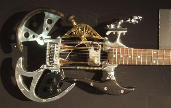 Most wonderful steampunk guitars ever made [In Photos]