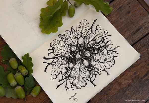 Sketchbook Illustration Drawings by Irina Vinnik | inspirationfeed.com