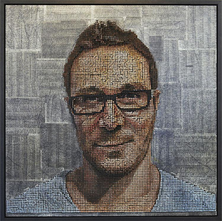 3D Screw Portraits by Andrew Myers | HomeDSGN, a daily source for inspiration and fresh ideas on interior design and home decoration.