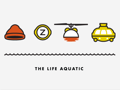 The Life Aquatic with Steve Zissou by Kyle Tezak