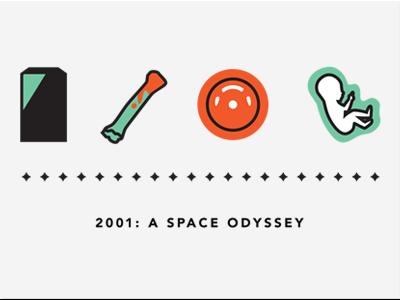 2001: A Space Odyssey by Kyle Tezak