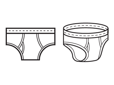 Undies by Kyle Tezak