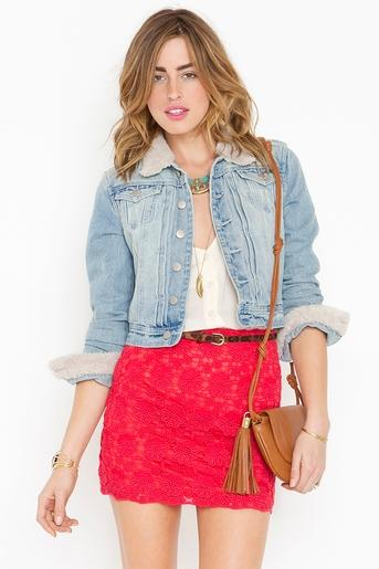 Lolita Crochet Skirt in Clothes Bottoms Skirts at Nasty Gal