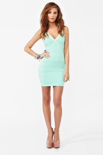 Buckle Up Bandage Dress in Clothes Dresses Body-Con at Nasty Gal