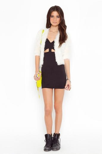 Vixen Cutout Dress - Black in Clothes Dresses Body-Con at Nasty Gal