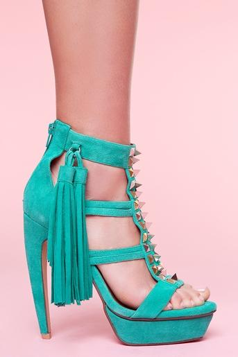 Strung Platform Pump in Shoes at Nasty Gal