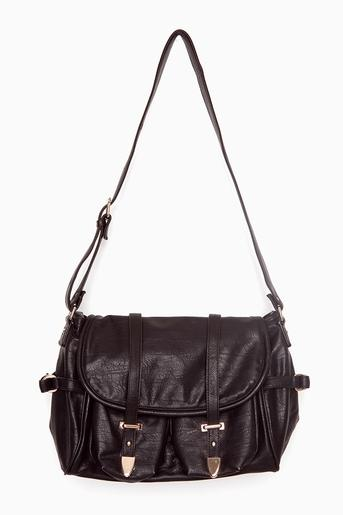 Harper Satchel - Black in Accessories Bags at Nasty Gal