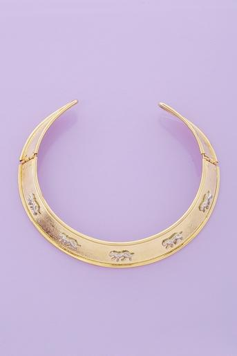 Prowlin' Collar Necklace in Accessories Jewelry at Nasty Gal