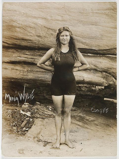 Mina Wylie, Coogee, 1913 | Flickr - Photo Sharing!