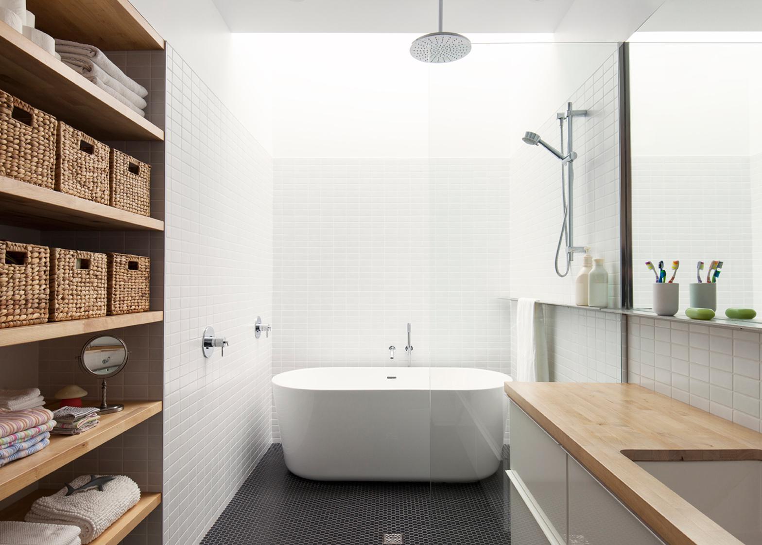 10 of the most popular bathrooms on Dezeen's Pinterest boards