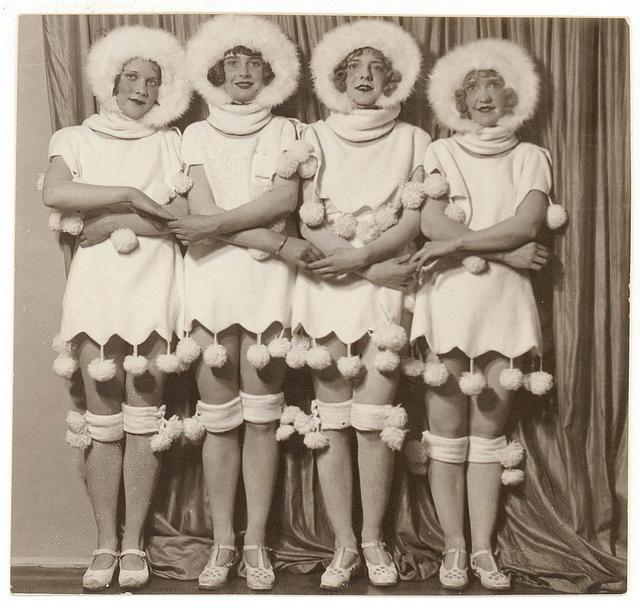 Chorus girls, 192- / Sam Hood   Flickr - Photo Sharing!