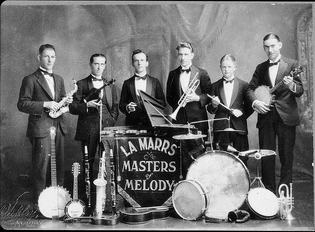 La Marr's Dance Band - Albury, NSW, 1926 | Flickr - Photo Sharing!