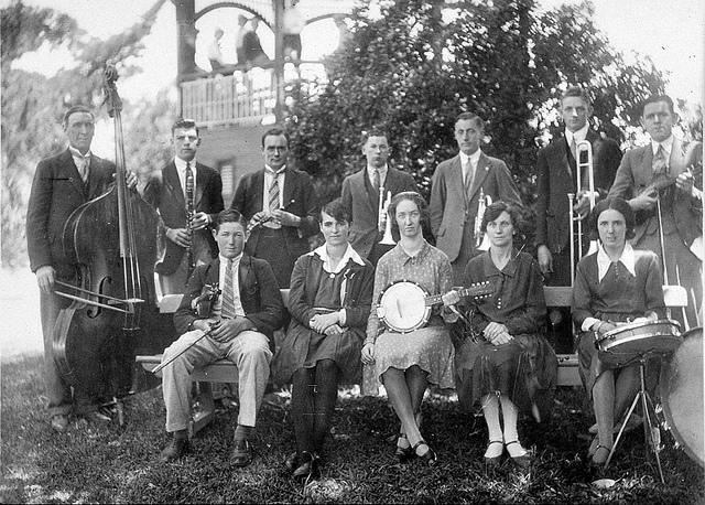 The Deniliquin Musical Society and Orchestra - Deniliquin, NSW, c. 1930 | Flickr - Photo Sharing!