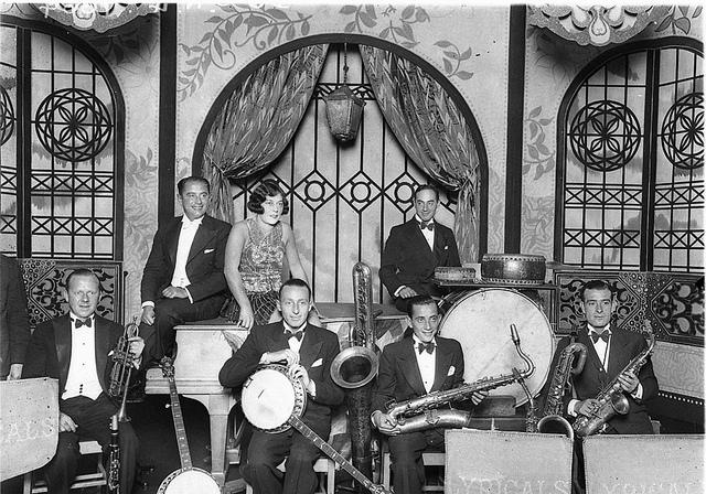 Beryl Evetts and the Syd Roy Lyricals Dance Band at Mrs. McLurcan's Wentworth Hotel, February 1929, by Sam Hood | Flickr - Photo Sharing!