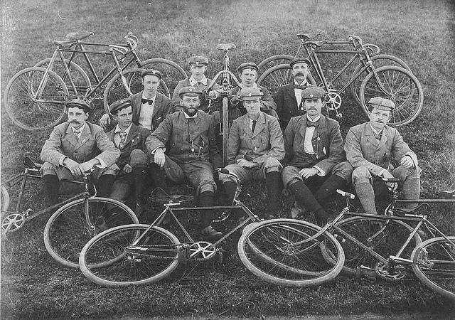 Palace Emporium Bicycle Club. Century riders - Sydney area, NSW, July 1899 | Flickr - Photo Sharing!