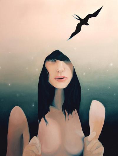 Dusk Art Print by Jen Mann | Society6
