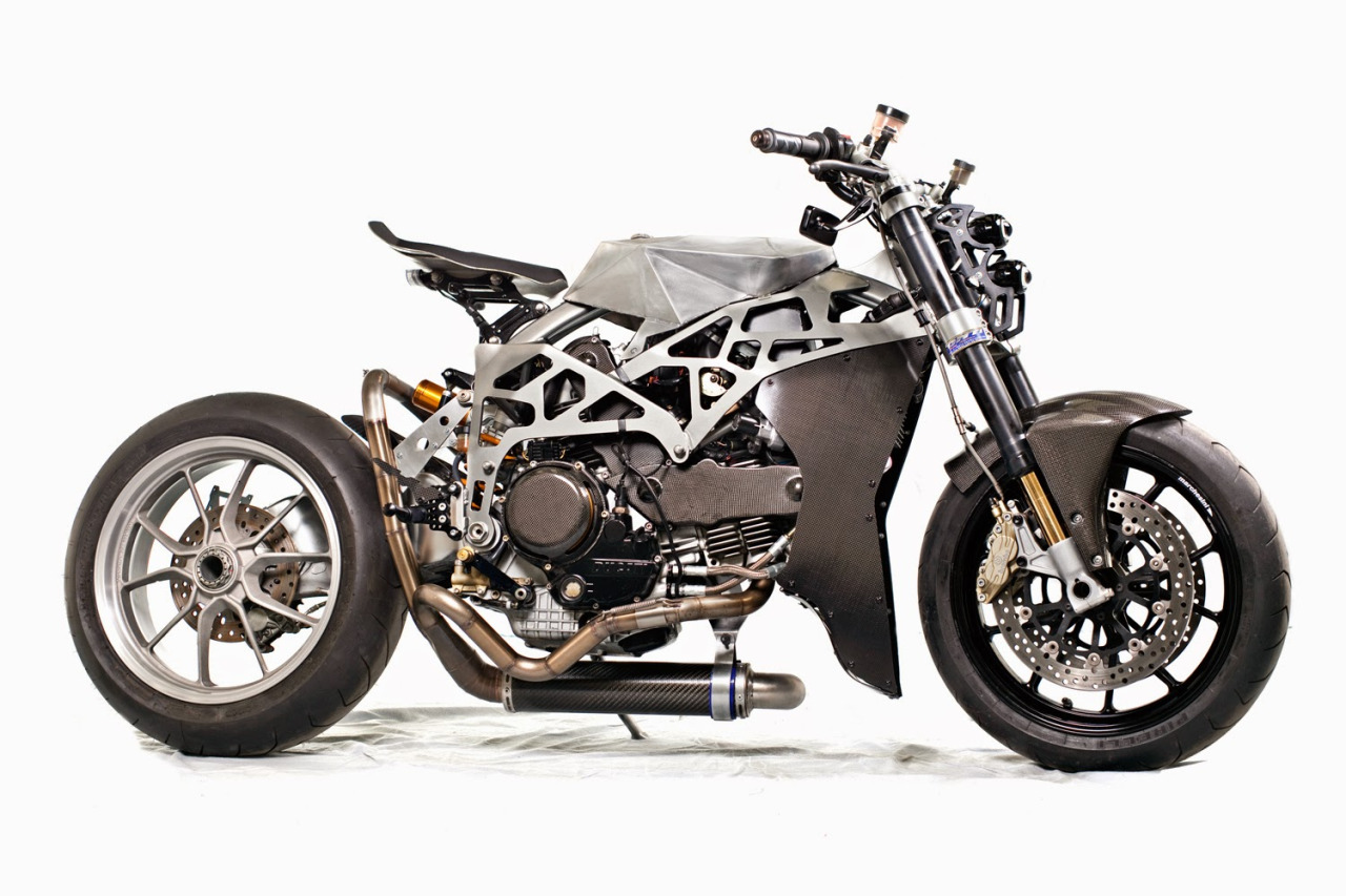 Random Ghost | rhubarbes: SCM 1.0 Ducati Monster 900 SS by...