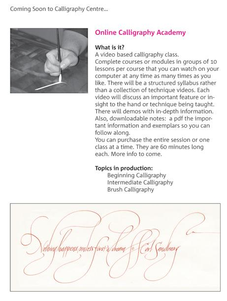 Online Calligraphy Academy