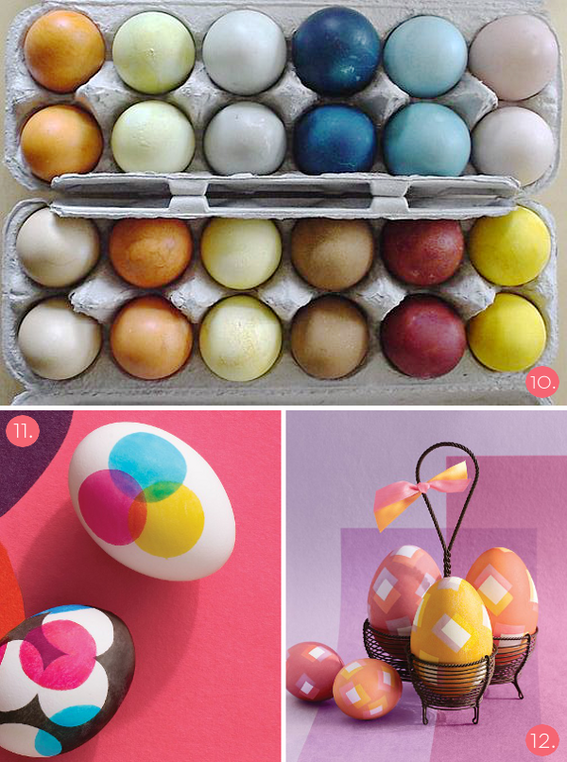 Roundup: 12 Unique and Modern DIY Easter Egg Ideas! » Curbly | DIY Design Community « Keywords: curbly-original, DIY, Craft, Holiday