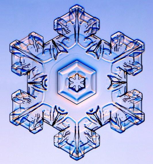 Les différents types de flocons de neige | La boite verte