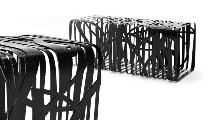 Exklusive Gartenmöbel 2020 | Bei Villa Schmidt bereits erhältlich | Carbon Fiber Furniture
