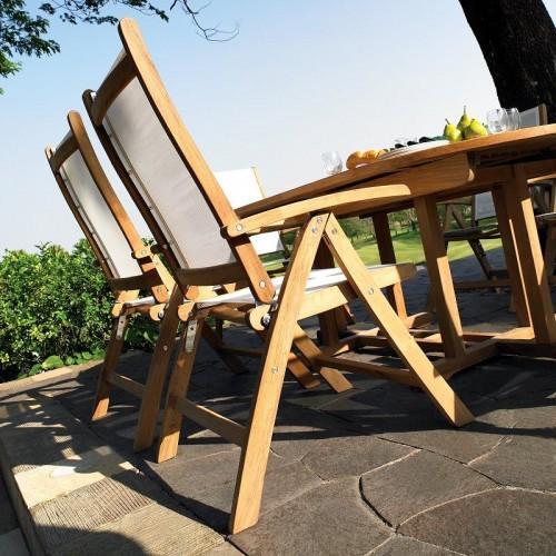 Teak Wood Furniture Complite Patio Dining Set - Seats 8 People