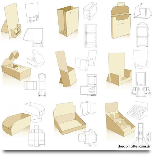 Todo para Packaging: Ideas y Moldes « Diego Mattei Blog