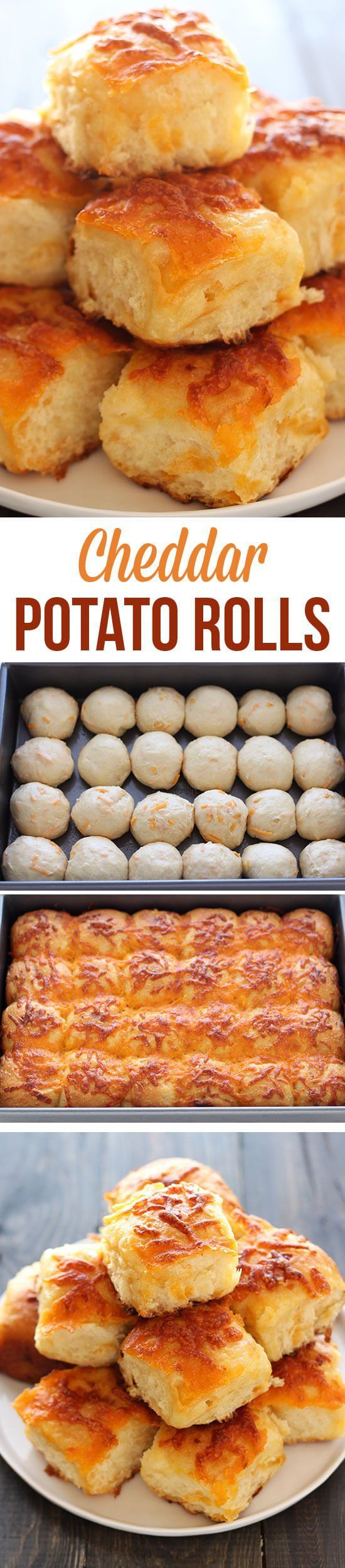 Cheddar Potato Rolls Recipe | Buzz Inspired