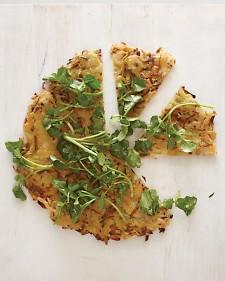 Potato and Leek Galette with Watercress - Martha Stewart Recipes