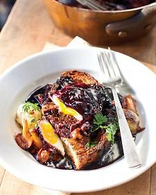 Eggs in Red-Wine Sauce - Martha Stewart Recipes